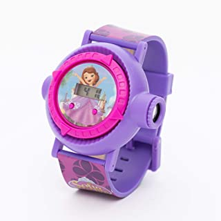 Disney Sofia Girls Digital Dial Projection Flashlight Light 10 Images Projection Wristwatch - TCWPT03 Sofia7