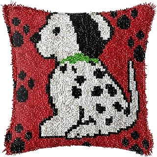 Kits De Crochet pour Enfants pour Les Débutants Filles Bricolage Jet d'oreiller Couverture Canapé Home Décor D'aiguille De...