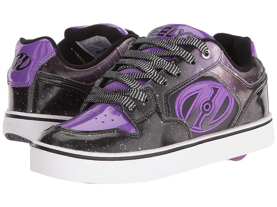 Heelys Motion Plus (Little Kid/Big Kid/Adult) (Black/Purple/Galaxy) Kid