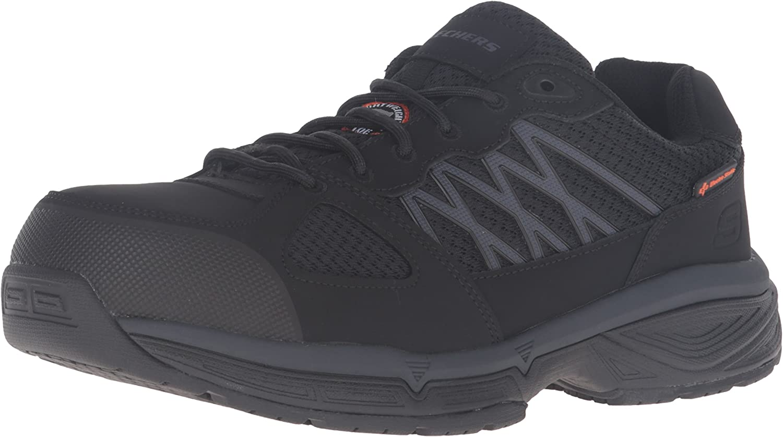 Skechers Work Men's Conroe Searcy Slip Slip Slip Resistant Work schuhe 0aa