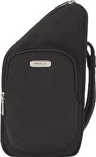 Travelon Crossbody, BLACK, Compact