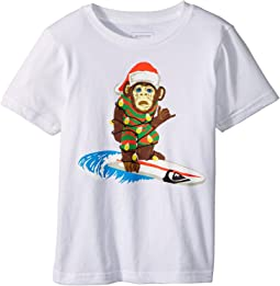 Quiksilver Kids - Santa Surf Monkey Tee (Toddler/Little Kids)