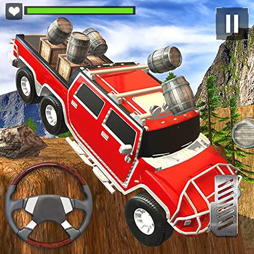4x4 Offroad Extreme Auto-Laufwerk-Simulator 3D: Hügel fahren Stuntman Mountain Buggy Racing Parking Fahrer Abenteuer Simulation Mission Free For Kids 2018