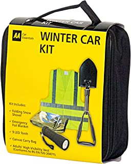 AA Kit de coche de invierno con pala de nieve plegable