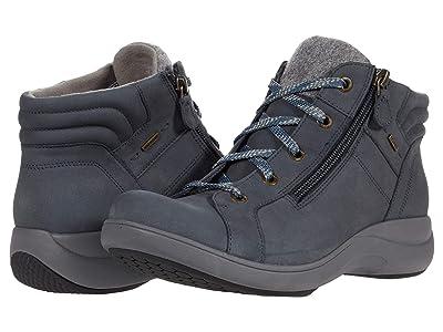 Aravon Rev Stridarc Waterproof Low Boot (Stone Blue) Women