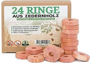 Protector de Almacenamiento de Ropa efficient Tremendous Regular su-xuri Paquete de 12 bolsitas de Afeitar de Cedro bolsitas de Chips de Cedro Rojo Natural para armarios y cajones de Ropa