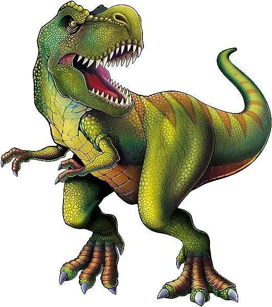Beistle 54793 Jointed Tyrannosaurus Cutout 52 Multicolor