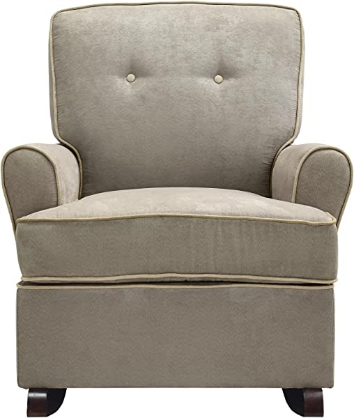 Baby Relax The Tinsley Nursery Rocker Chair Light Brown