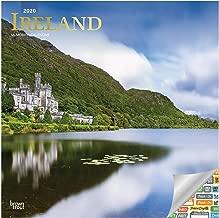Ireland Calendar 2020 Set - Deluxe 2020 Ireland Nature Wall Calendar with Over 100 Calendar Stickers (Irish Gifts, Office Supplies)