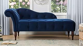 Best blue velvet chaise Reviews
