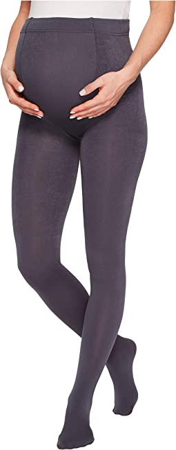 Plush - Maternity Fleece-Lined Full-Foot Tights