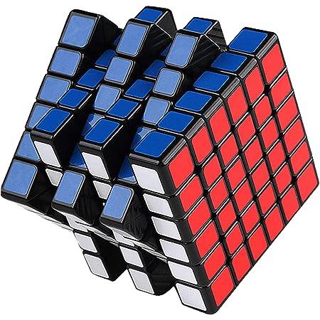 魔方 キューブ 6x6x6 [2021最新] 立体パズル 競技用 ポップ防止 知育玩具
