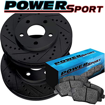 2005 For Chevrolet Colorado Front Disc Brake Rotors and Ceramic Brake Pads