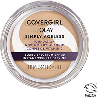 Covergirl & Olay Simply Ageless Instant Wrinkle-Defying Foundation, Classic Ivory