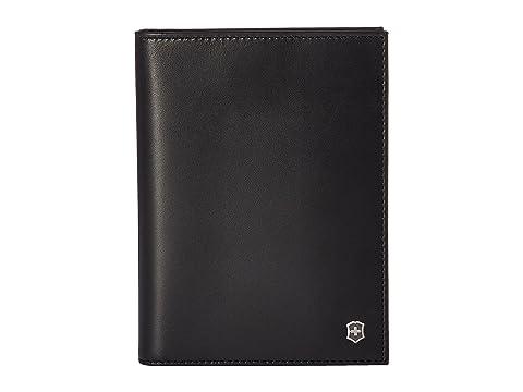 con Leibnitz Edge negro Victorinox RFID para Altius Cubierta pasaporte xqHnFWYXpw