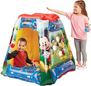 Mickey Mouse 94785 Ball Pit, 1 Inflatable + 20 Soft-Flex Balls