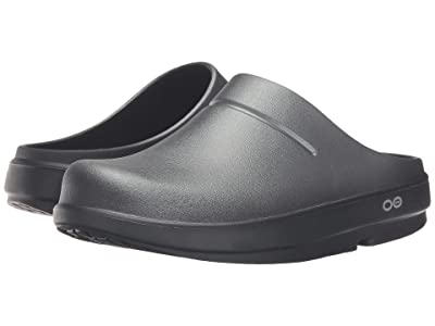 OOFOS OOcloog Luxe (Graphite) Clog Shoes