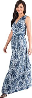 Best blue and white floral gown Reviews