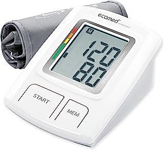 Ecomed BU-92E Tensiómetro para El Brazo sin Cable, Pantalla de Arritmia, Escala de Colores del Semáforo de la Oms, Para Una Medición Precisa de la Tensión Arterial y del Pulso con Función de Memoria