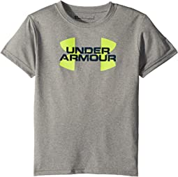 Under Armour Kids - Linear Big Logo Short Sleeve Tee (Little Kids/Big Kids)