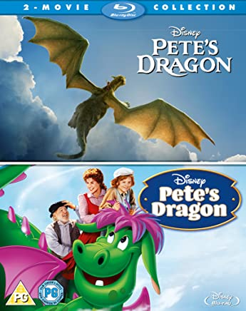 Pete's Dragon Live Action and Animation [Region Free]