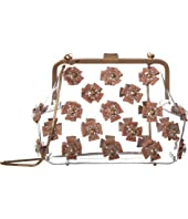 ZAC Zac Posen - Floral Love Frame Clutch - Glass