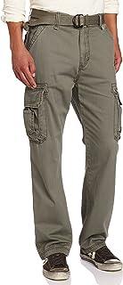 سروال كارجو رجالي من UNIONBAY مطبوع عليه Survivor Iv مريح بمقاسات كبيرة وطويلة
