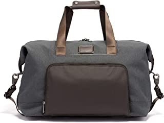 Alpha 3 Double Expansion Travel Satchel - Duffle Bag for Men and Women - Anthracite