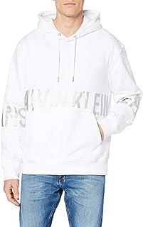 Calvin Klein Jeans Men's Blocking Logo Hoodie Sweater
