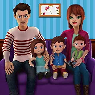 Virtual Family Mom Simulator 2018: Mommy Baby Daycare Sim Adventure Games For Girls For Free 2018