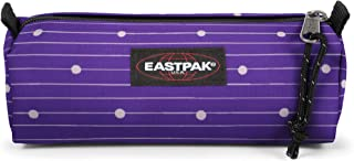 Eastpak BENCHMARK Single Trousses, 20 cm, Violet (Little Stripe)