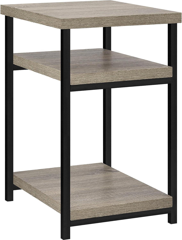 Altra Furniture Elmwood End Table, Sonoma Oak