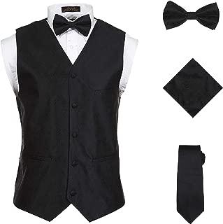 Best black vest tux Reviews