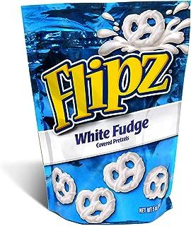 Flipz Milk Chocolate and White Fudge Covered Pretzels, 5 oz, Pack of 18