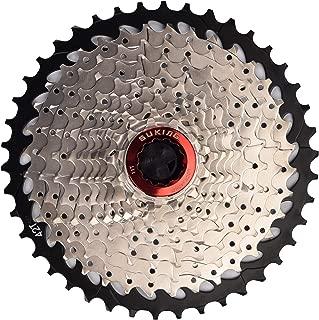 CYSKY 11 Speed Cassette 11Speed 11-42 Cassette Fit for Mountain Bike, Road Bicycle, MTB, BMX, Sram Sunrace Shimano ultegra xt (Light Weight)