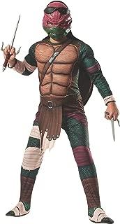 Rubies Teenage Mutant Ninja Turtles Deluxe Muscle-Chest Raphael Costume, Medium