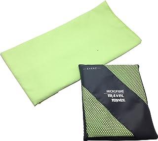 comprar comparacion EXERZ Microfibra Extra Grande XL Toalla para Viaje / Toalla para Deporte (150 x 85 cm) con Bolsa de Transporte – Gimnasio ...