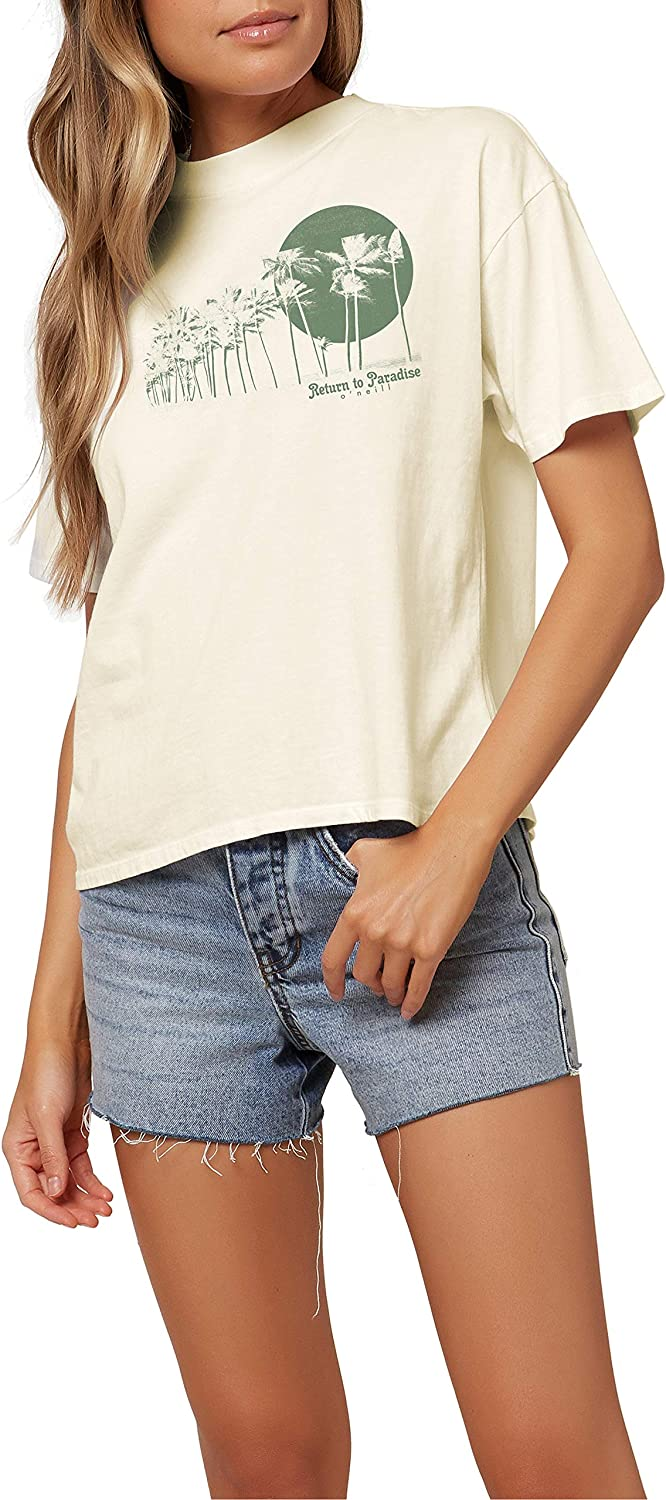 O'NEILL Women's Max 48% Ranking TOP20 OFF Short Graphic Sleeve T-Shirt