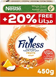 Nestle Fitness Fruits Breakfast Cereal 450 gm – Promo Pack