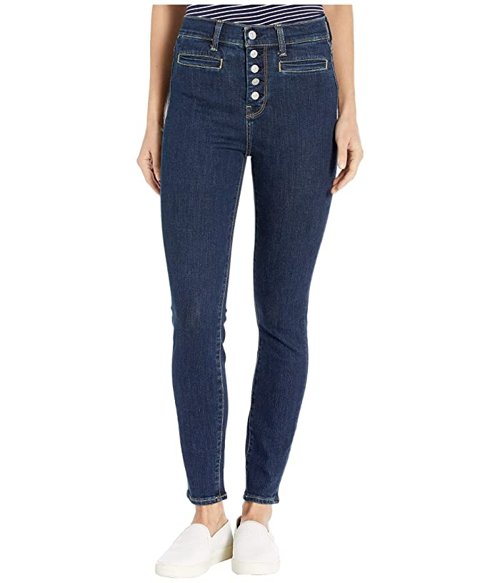 7 For All Mankind  High-Waist Ankle Skinny in Fate Rinsed (Fate Rinsed) Womens Jeans