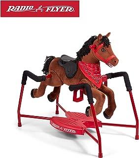Radio Flyer Chestnut Plush Interactive Riding Horse (Renewed)