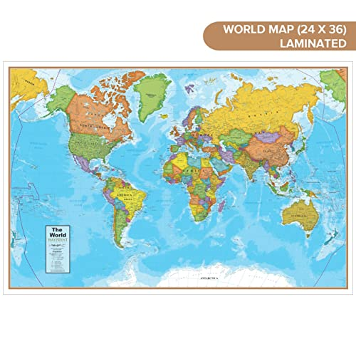Current World Maps: Amazon.com