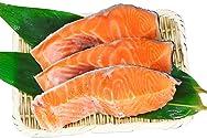 [冷蔵] 魚の北辰 ふり塩 銀鮭(切身)3切 300g