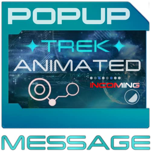 ✦ TREK ✦ Animated POPUP For GO SMS Pro