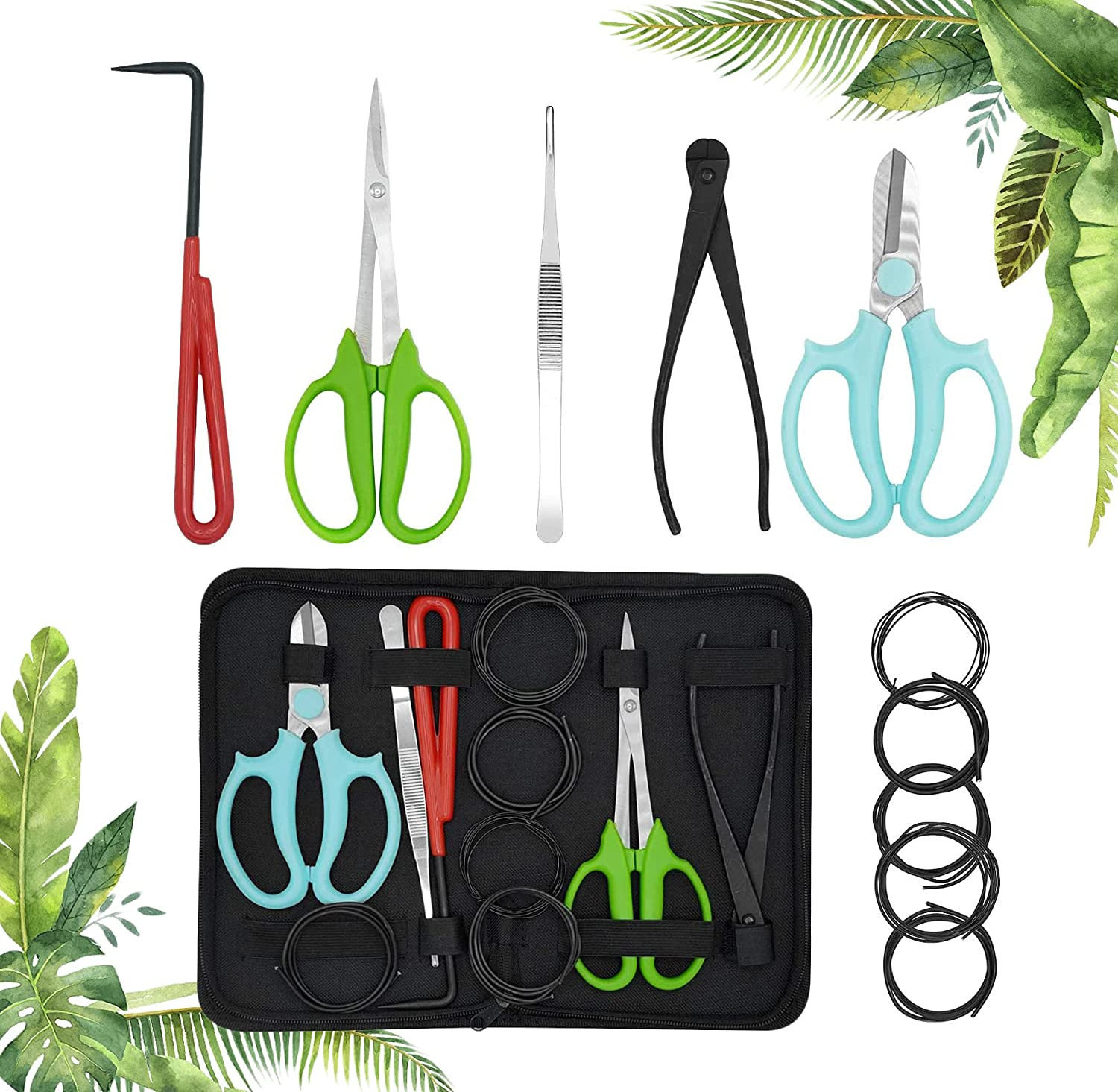 Bonsai Now on sale Tools Set 11pcs Tree Ranking integrated 1st place Gardening Trimming