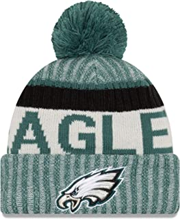 New Era Men's Men's Eagles 2017 Sideline Official Sport Knit Hat