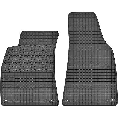 Kh Teile Fußmatte Passend Für A4 B6 B7 Premium Qualität Autoteppich Velours Anthrazit Fahrermatte Auto
