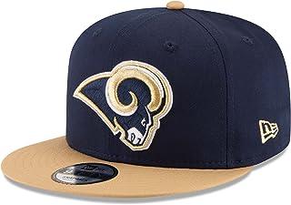 NFL St. Louis Rams Baycik Snap 9Fifty Snapback Cap, Small/Medium, Blue
