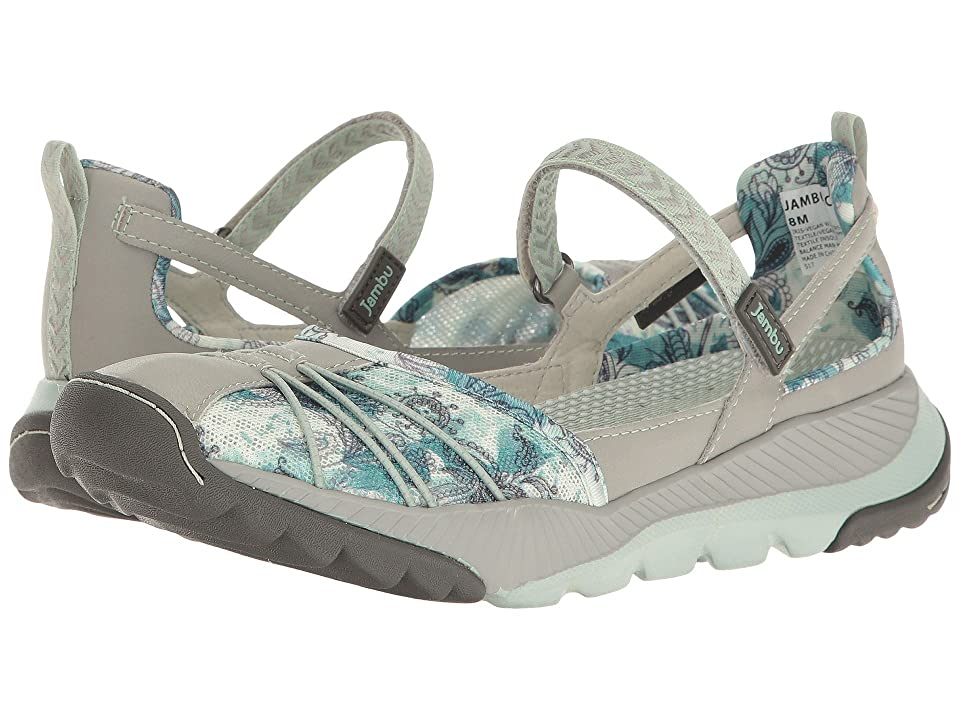 Jambu Iris-Vegan Water Ready (Light Grey/Green) Women