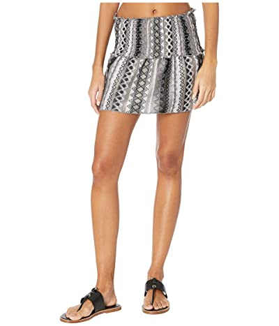 BECCA by Rebecca Virtue Rio Bueno Short Skirt Cover-Up (Black) Women